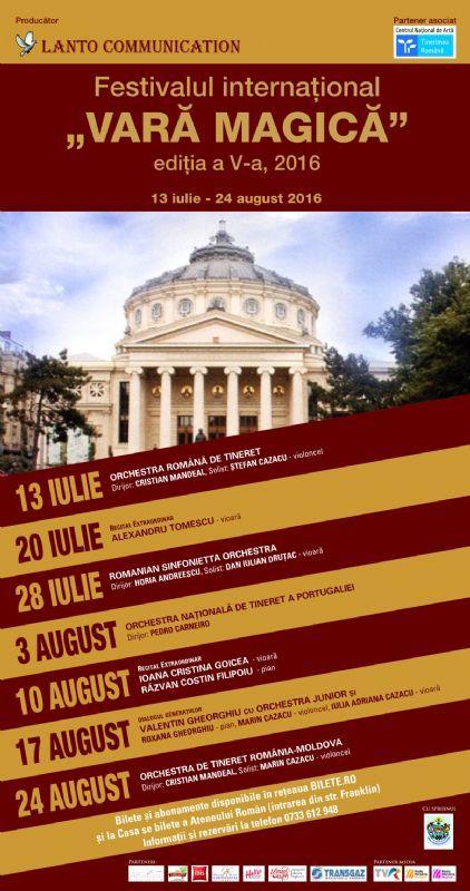 Orchestra de Tineret Romania - Moldova - 24 Aug 2016