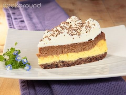 Cheesecake al cioccolato al latte: Ricette Dolci | Cookaround
