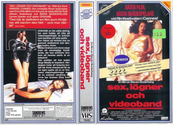 Sex, lögner och videoband (SEX, LIES & VIDEOTAPE '89), PAL VHS, SANDREWS/(MCEG) VIRGIN VISION  (Sverige/Schweden/Svezia/Zweden/Sweden, EU - '95) #gothic #EU27 #Erasmus #Brexit #Brexshit #nostalgie #Trump #Iovotono #arthouse #bohemian #indie #Aries #Cancer #crab #Leo #lion #Pisces #fish #Mesha #Karka #Simha #Meena #Ram #Kreeft #Leeuw #Vissen #Ikinä #Charlotte #Gainsbourg #Lou #Doillon #Asia #Argento #Winona #Ryder #Christina #Ricci  #grufti #Jessicka #Addams #grunge #Gojira #hardcore #Löfven