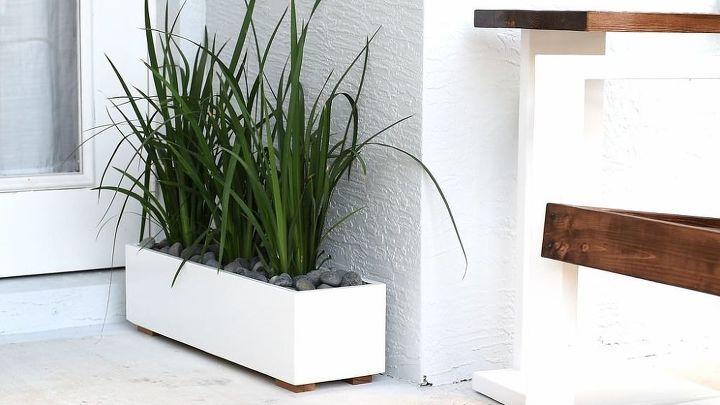 Modern Planter Box