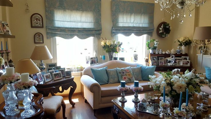 My sweet living room turquoise style so fantastic