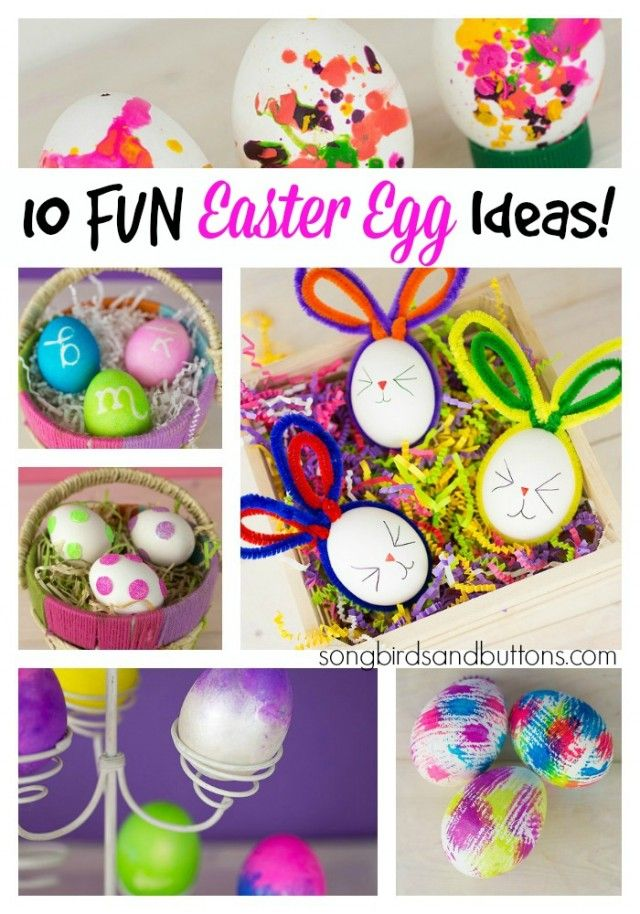 10 Fun Ways To Dye Easter Eggs Easter Eggs Decorating