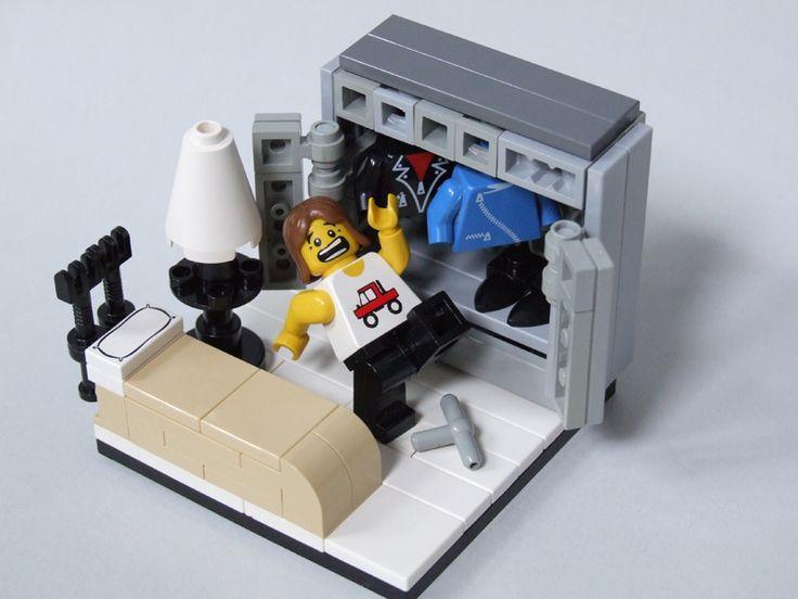 Lego Bedroom Furniture 178 best lego furniture etc images on pinterest | lego furniture