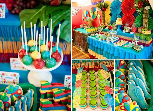 78 Best Tropical Party Images On Pinterest Luau Party