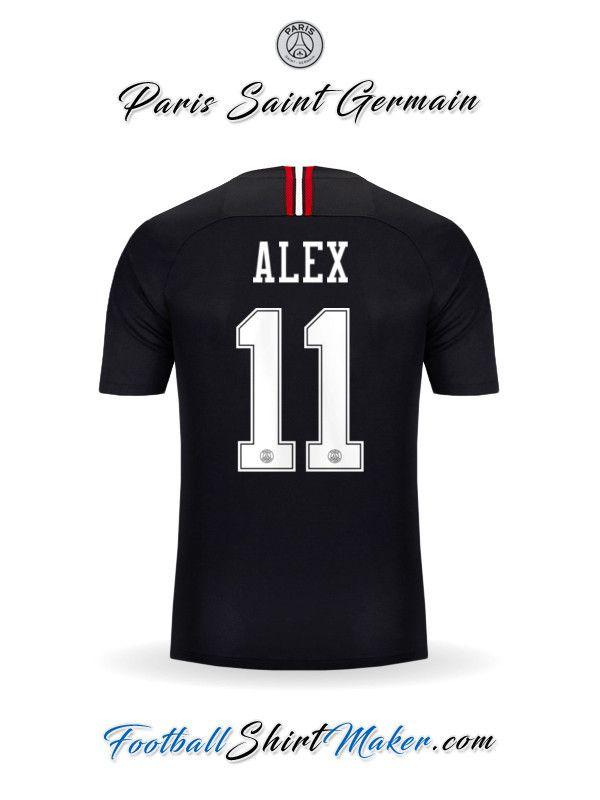 Crear Camiseta de Paris Saint Germain 2018 19 Jordan con tu Nombre ... d3249a49c9525