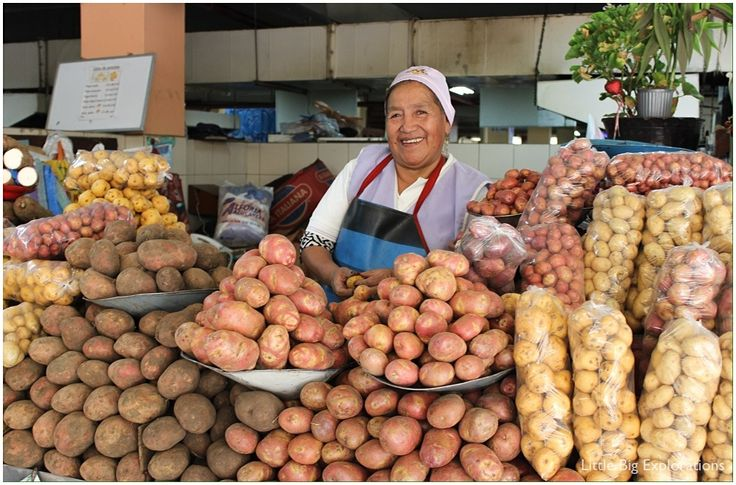 """The central market of Quito, Ecuador. I just love the colours and the smiles of the """"senoras"""" who sell their products everyday."""