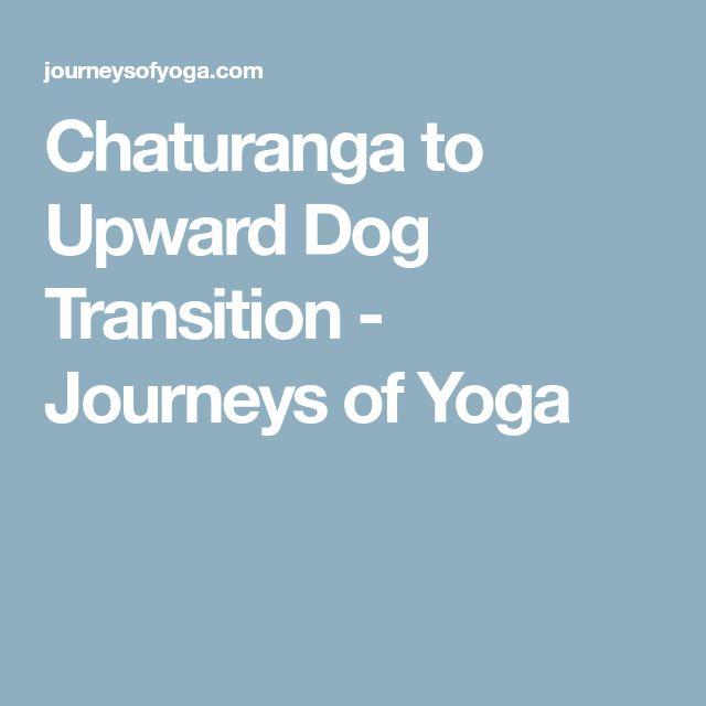 Chaturanga to Upward Dog Transition