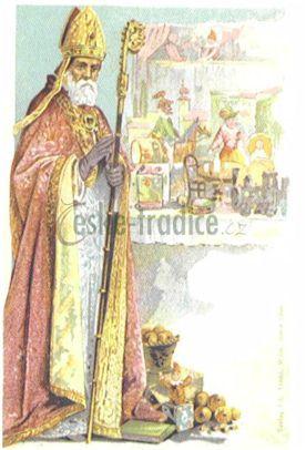 sv. Mikuláš české tradice