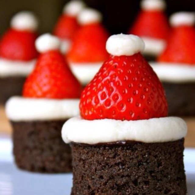 Yummy holiday brownies