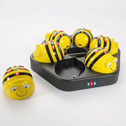 Bee-Bot oplaad- en docking station - ictLESKISTEN, de leverancier van ict leskisten (programmeren, robotica, maker education) voor het onderwijs