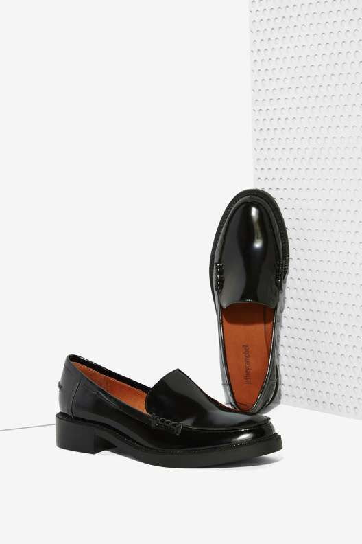 Jeffrey Campbell Adger Leather Loafer