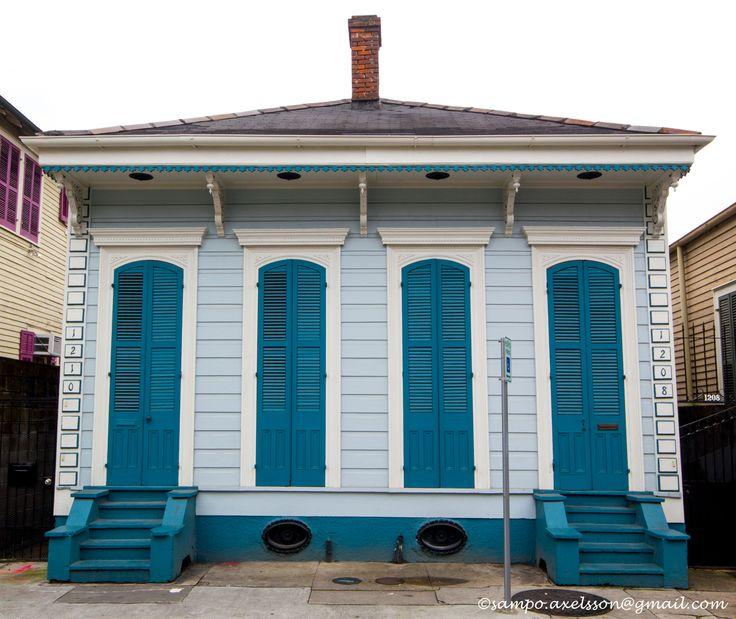 Creole Cottage, New Orleans, LA. Photo: Sampo Axelsson. #neworleans #louisiana #building #architecture #sampo