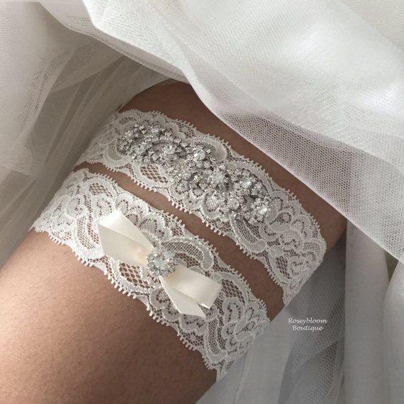 Bridal Garter-Wedding Garter-Rhinestone Garter-Bride Garter-Garter Set-Crystal Garter-Lace Garter-Teardop Rhinestone Bridal Garter Set
