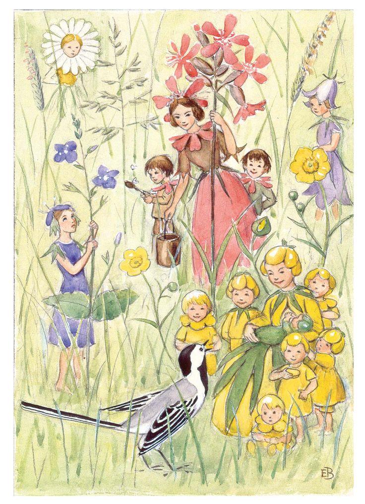 The Flower Festival - illustrated by Elsa Beskow
