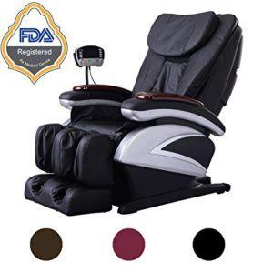 Massage chair reviews - Electric Full Body Shiatsu Massage Chair Recliner w/Heat Stretched Foot Rest 06C- Black