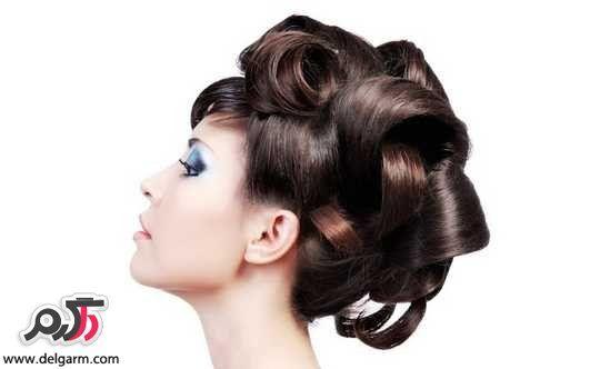 Красивые модели и классический шиньон волосы