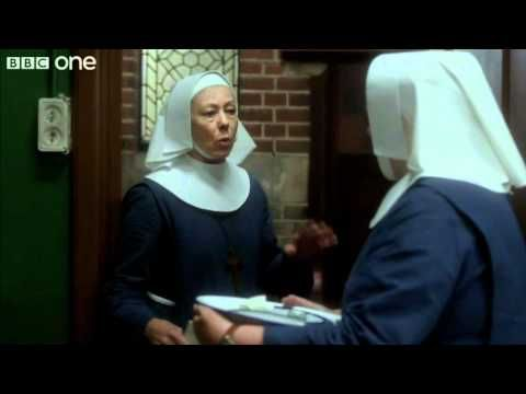 Chummy (Miranda Hart) Arrives at Nonnatus House - Call The Midwife - Series 1 Episode 2 - BBC One.
