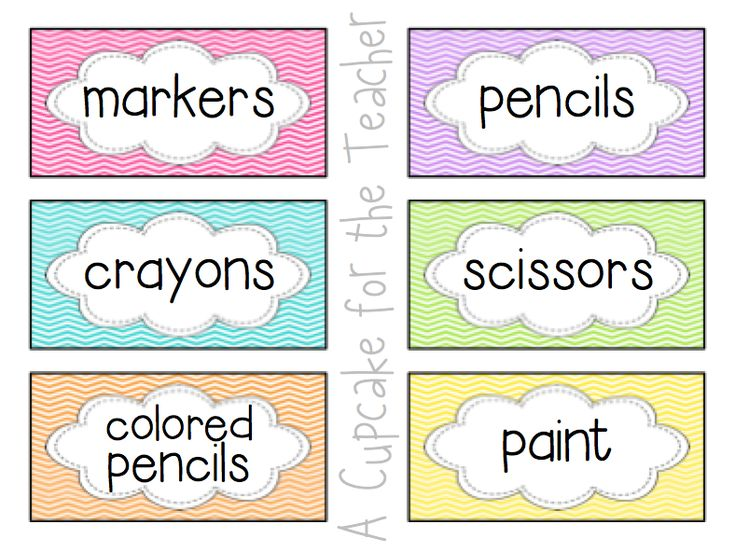 Classroom Labeling Ideas ~ Best ideas about chevron labels on pinterest free