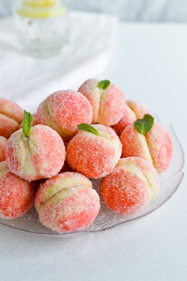Orange infused sweet ricotta peach cookies!  These have to be the most gorgeous cookies ever!!