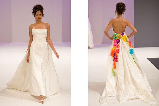 Des robes de mariée colorées | Mademoiselle Dentelle