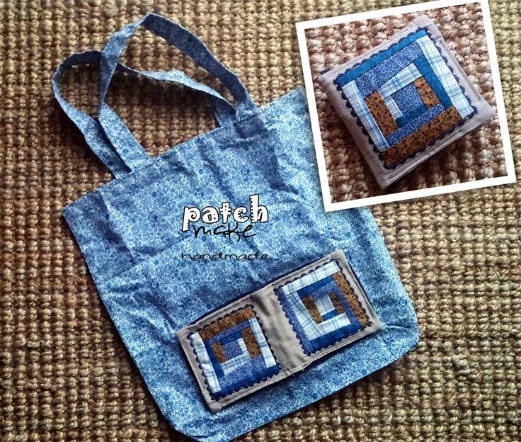 Patchmake. Blog de patchwork: Bolsa plegable