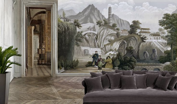 Os Luxuosos Papéis de Parede da Francesa Ananbô