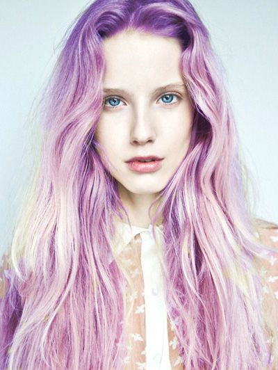 Get this look by mixing Manic Panic's Electric Amethyst with Cotton Candy Pink.