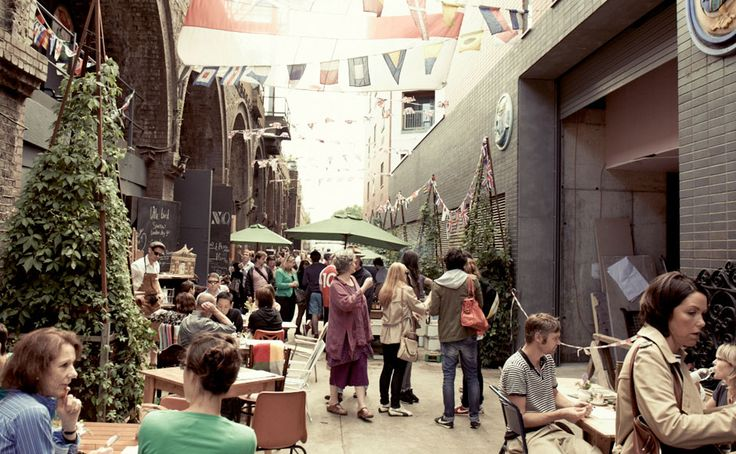 Street Food Places In London