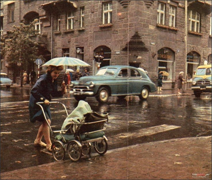 ulica Lwowska 1968 rok Fot. Fotopolska