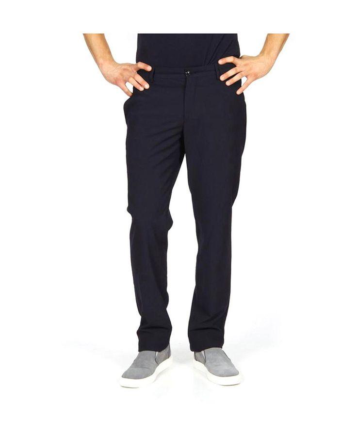 Pantaloni uomo GIORGIO ARMANI 3172 Blu scuro - titalola.com