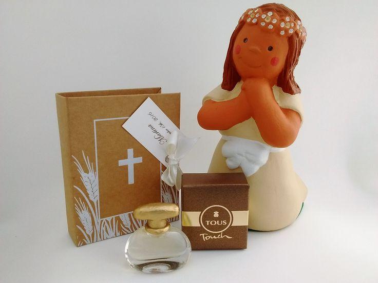 detalles comunion baratos. Mini perfumes de mujer y hombre. Ideas originales para comunion