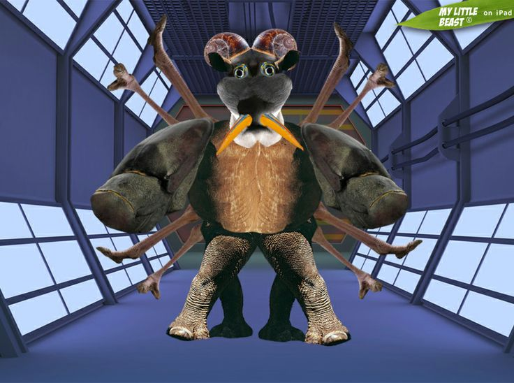 What an ugly creature! Whose little beast may it be???  Created with the magnificent My Little Beast app. Download here: LITE: https://itunes.apple.com/app/id824876886 FULL: https://itunes.apple.com/app/id815685056 Web: http://www.lindenepublishing.com/apps/my-little-beast/  #games, #ipad, #kids, #animals