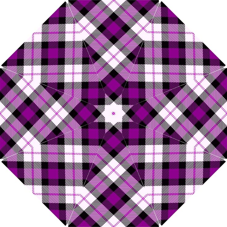 Smart Plaid Purple Hook Handle Umbrellas (Medium) This umbrella is made of 100% pongee polyester and is designed to provide impeccable protection from the downpour. Easy to carry, the hook handle design makes it possible to hook onto arms as you walk. Make it original, this item can be imprinted with images, logos or messages. It makes the perfect gift as well as personal use all year round