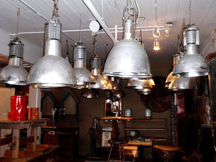 Warehouse vintage industrial varying sizes styles · industrial style lightingindustrial lampsmodern