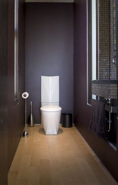 22nd - modern - powder room - san francisco - Barker O'Donoghue Master Builders, love this water closet design