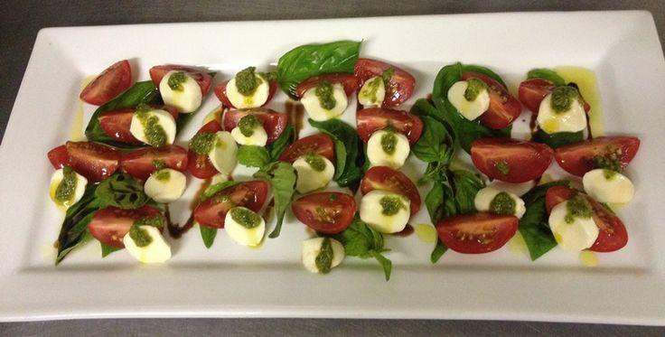Super sized caprese salad