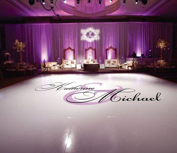 1000 images about wedding dance floor decals on for Wedding dance floor size