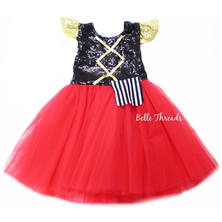 Glam Pirate Tutu Dress