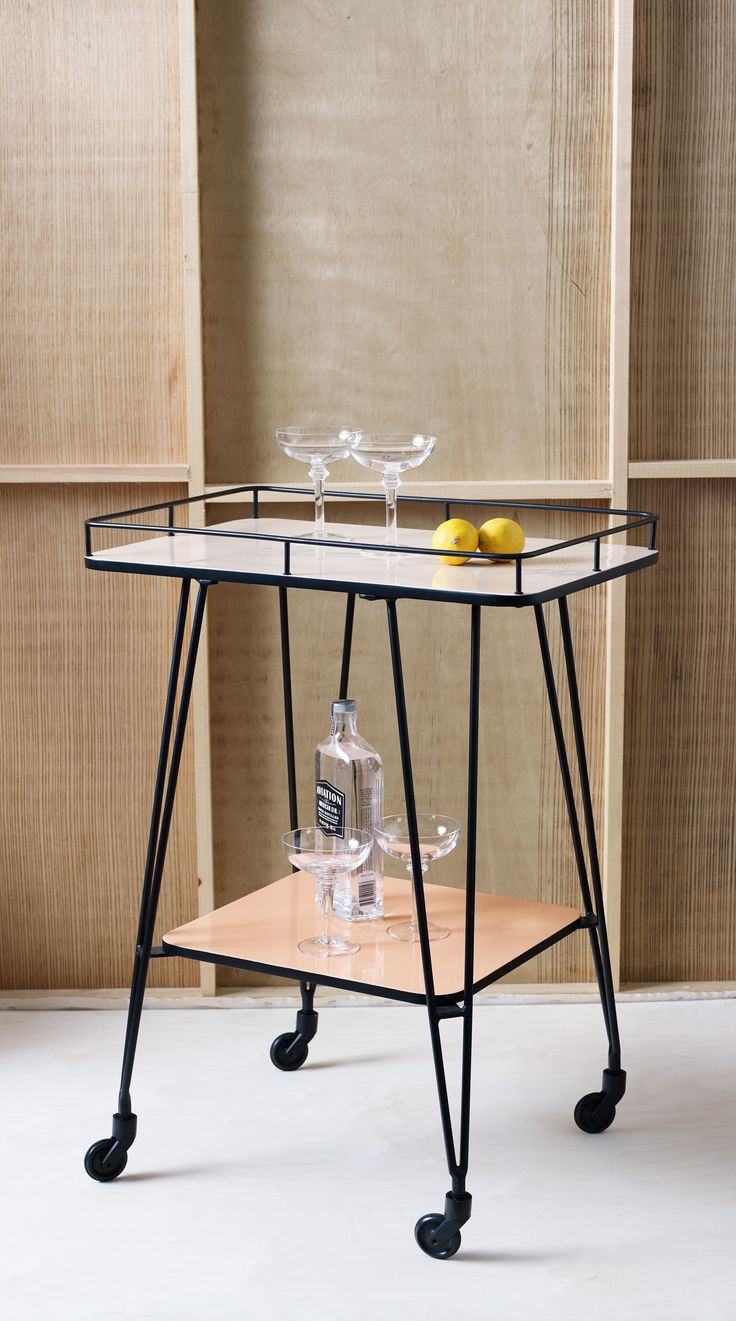 Come cocktail hour, be a smooth operator with our Studio Drinks Trolley.