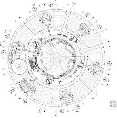 O2 Arena Sketch