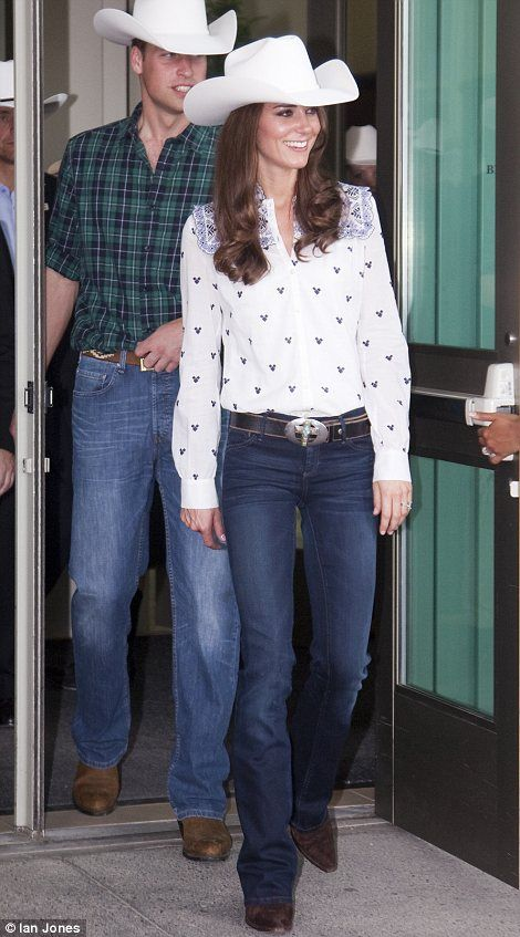 The Duke and Duchess of Cambridge attend the annual Calgary Stampede