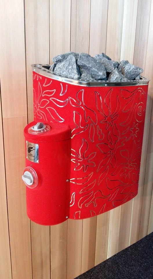 Lovely Sauna stove by Stefan Lindfors!