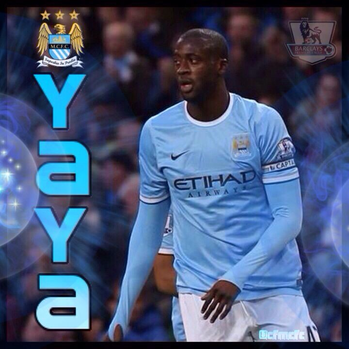 Yaya Toure wallpaper #mcfc #manchester #city