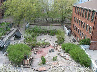 A natural playground design in Denmark.