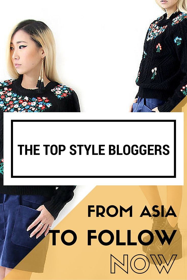 Check out the Top Asian Style Bloggers you need to follow NOW! From Singapore to Korea to the Philippines, these ladies have some serious style!