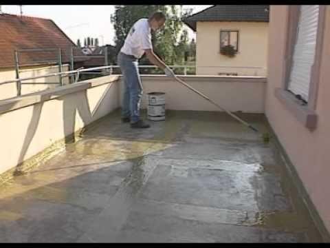 Comment mettre en oeuvre de l'Alsan 400 système d'étanchéité liquide ? - YouTube