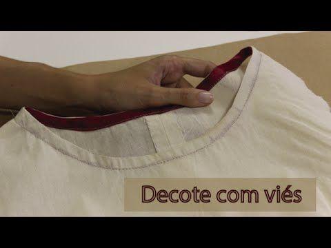 Como costurar blusa com pala, franzido e manga com abertura - YouTube