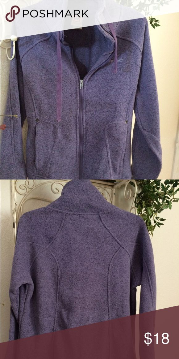 Women's zip front jacket Avalanche outdoor apparel women's large zip front jacket in purple Jackets & Coats