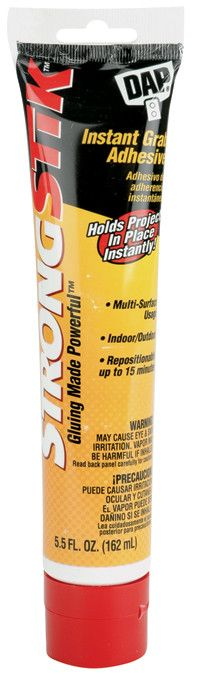StrongStik Instant Grab Adhesive-5.5oz