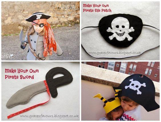 Come fare un costume da pirata Tutorial e Cartamodello